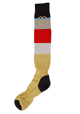 SPECIAL BLEND Light Weight Socks 2012 tan lines fadeout stripe