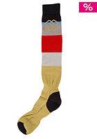 SPECIAL BLEND Light Weight Socks 2012 tan lines fadeout stripe