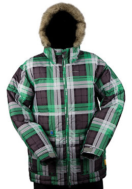 SPECIAL BLEND Ninety 5 Jacket 2010 grey thugby plaid