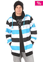 SPECIAL BLEND Proof Hooded Zip Sweat south beach big stripe