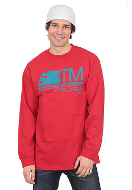 SPECIAL BLEND SBTM L/S Shirt red army
