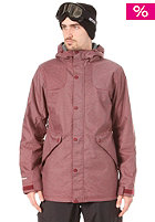 SPECIAL BLEND Shank Jacket merlot