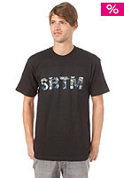 SPECIAL BLEND Stamped S/S T-Shirt blackout