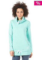 SPECIAL BLEND Womens All Nighter Hooded Zip Sweat mint julep