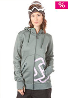 SPECIAL BLEND Womens Cipher Hooded Sweat greyskull