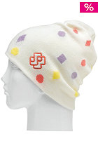 SPECIAL BLEND Womens Polka Beanie c.r.e.a.m.