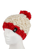 SPECIAL BLEND Womens Pom Pom Beanie c.r.e.a.m