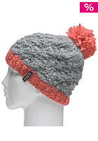 SPECIAL BLEND Womens Pom Pom Beanie smoked out