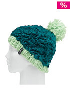 SPECIAL BLEND Womens Pom Pom Beanie teal bag