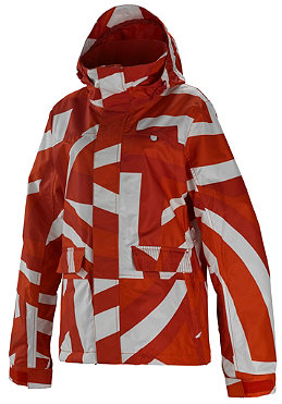 SPECIAL BLEND Womens Rapid Jacket 2011 spun out red army