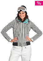 SPECIAL BLEND Womens True Jacket black small stripe