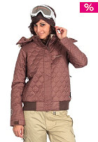 SPECIAL BLEND Womens True Jacket chocolate dots