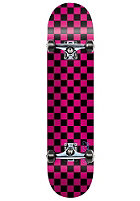 SPEED DEMONS Checker black/pink Complete Skateboard 7.50