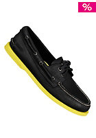 SPERRY TOP SIDER 2-Eye Leather black with neon sole