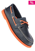 SPERRY TOP SIDER A/O navy/neon orange