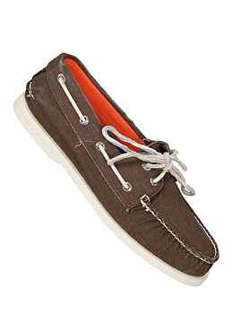 SPERRY TOP SIDER Authentic Original 2 Eye Canvas brown