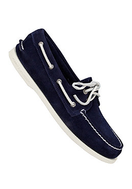 SPERRY TOP SIDER Authentic Original 2 Eye Suede navy