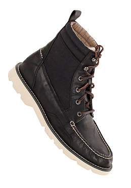 SPERRY TOP SIDER Ship Yard Rigger Boot black/black