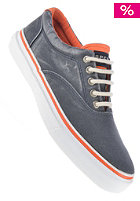 SPERRY TOP SIDER Striper neon navy/orange