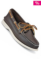 SPERRY TOP SIDER Womens Authentic Original 2 Eye Leather classic brown