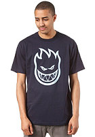 SPITFIRE Bighead S/S T-Shirt navy/light blue