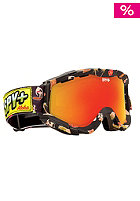 SPY Zed  2013  aloha/red scpt + yellow lens