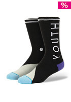 STANCE What Youth Socks black