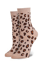 STANCE Womens Lone Leopard Socks gold