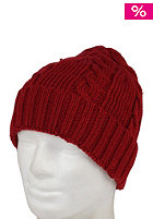 ST�SSY Cable Cuff Beanie red