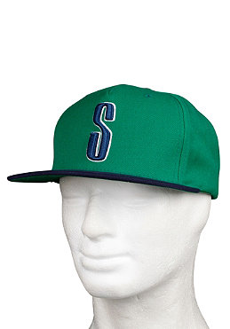 STSSY Old Skool Starter Cap green