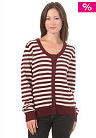 SUIT Womens Ohanna Cardigan Sweat bordeaux