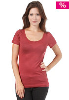 SUIT Womens OL S/S T-Shirt marsala
