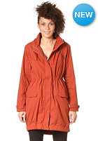 SUIT Womens Rice Hooded Zip Sweat red