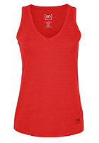 SUPER.NATURAL Womens Base Racerback 140 true red