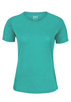 SUPER.NATURAL Womens Base S/S 140 pool green