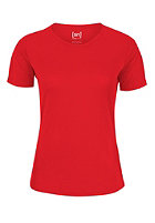 SUPER.NATURAL Womens Base S/S 140 true red