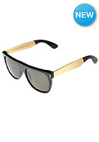 SUPER SUNGLASSES Flat Top Francis Sunglasses gold black