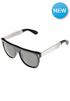 SUPER SUNGLASSES Flat Top Silver Francis Sunglasses silver black