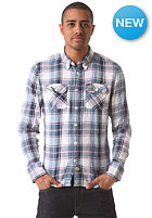 SUPERDRY Bootleg Laundered Lumberjack Shirt bootleg pacific check