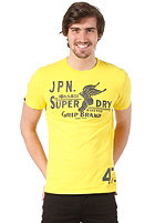 SUPERDRY Grip Brand' Reworked Classic S/S T-Shirt fluro yellow