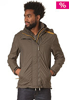 SUPERDRY Hooded Arctic Pop Zip Windcheater Jacket army/marigold