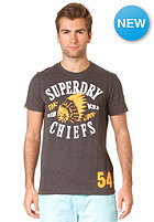 SUPERDRY Icon Chiefs S/S T-Shirt graphite black marl