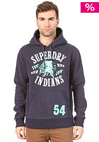 SUPERDRY Indians Reworked Classics Hooded Sweat rinse navy