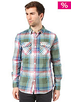 SUPERDRY Lumberjack Twill  L/S Shirt dawkings forest green check