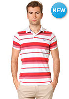 SUPERDRY Marl Stripe Polo pale marl