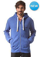 SUPERDRY Orange Label Hooded Zip Sweat blue marl