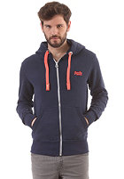SUPERDRY Orange Label Pop Hooded Zip Sweat lauren navy