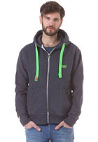 SUPERDRY Orange Label Pop Hooded Zip Sweat midnight marl