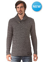 SUPERDRY Orchard Henley Knit Sweat grey nep