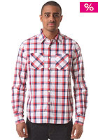 Paperweight Madras L/S Shirt mauve mix